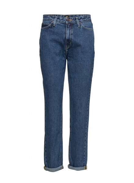 Lee, Jeans Mom tapered curved high waist, Acid stone