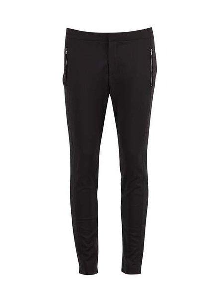 Saint tropez, Pantalon Zipper, Black