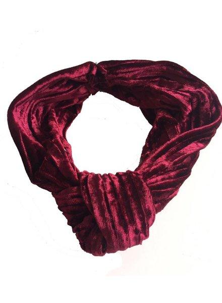 Bulu brands Bulu brands, Velvet bandana, Red