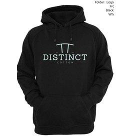 Distinct Distinct Cotton, Hoodie logo Distinct, Black
