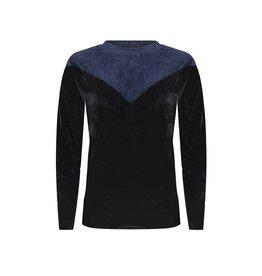 Lofty Manner Lofty manner, Sweater Yvonne, Blauw