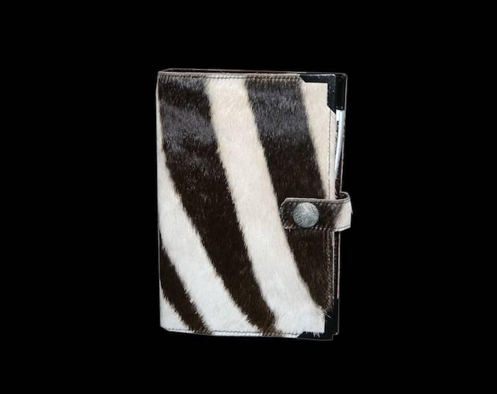Timer/Kalender aus echten Zebrafell