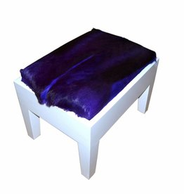 Springbock Hocker Piano Purpel