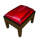 Springbock Hocker Piano Red