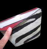 Tablet PC Hülle aus echten Zebrafell