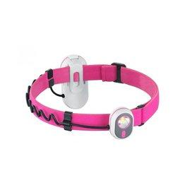 Alpina Sport AS01 2 in 1 Stirnlampe - pink