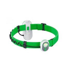 Alpina Sport Lampe frontale AS01 2 en 1 - vert
