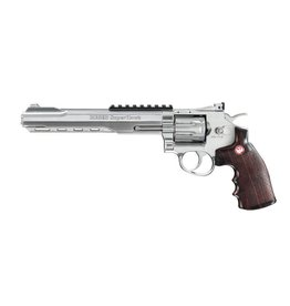 Ruger Superhawk 8 Zoll - Co2 - silber - 4,0 Joule