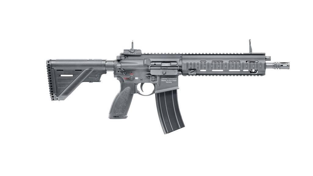 H&K 416 A5 GBBR - 1,60 Joule - schwarz