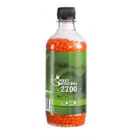 Combat Zone BB 0,12 grammes - 2.700 pièces - orange