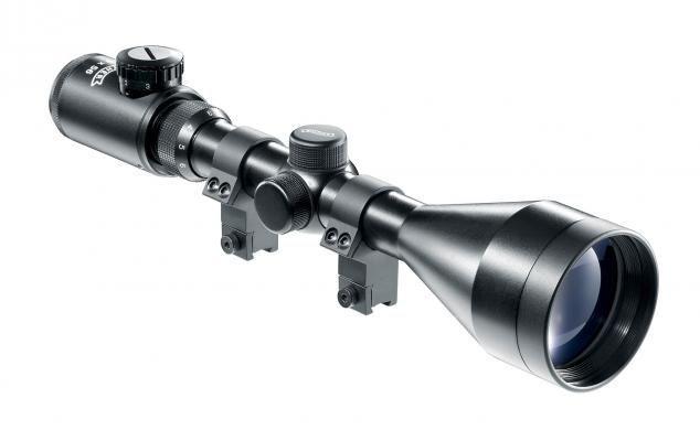 Zielfernrohr Mit Entfernungsmesser Kaufen : Walther zielfernrohr 3 9x56 scope kreuzabsehen beleuchtet