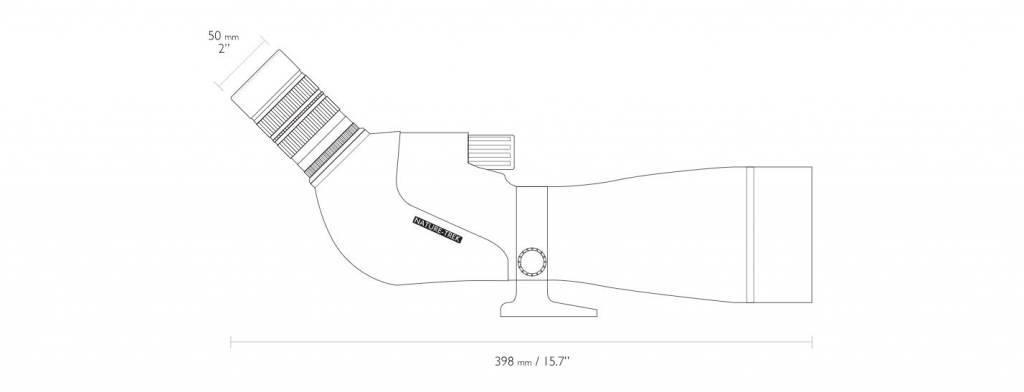 Hawke Nature-Trek 20-60×80 Spektiv