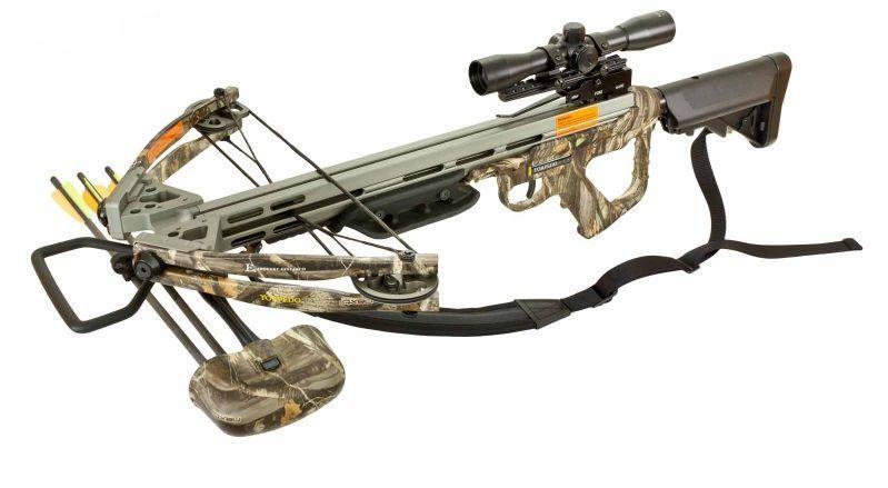 EK-Archery Compound Armbrust X-Bow Torpedo - Set - camo