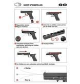 Glock 17 Gen 4 Co2 GBB – 1,0 Joule – schwarz