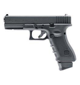 Glock 17  DX Co2 GBB – 1,0 Joule – schwarz inkl. Glock Waffenkoffer