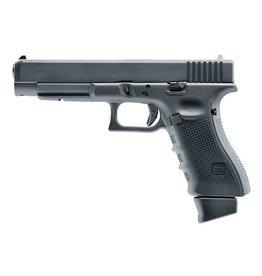 Glock 34 DX Gen 4 Co2 GBB – 1,0 Joule – schwarz inkl. Glock Waffenkoffer