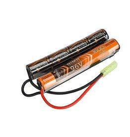 ACM Batterie Ni-Mh 9.6V 1.600 mAH - type Nunchuck