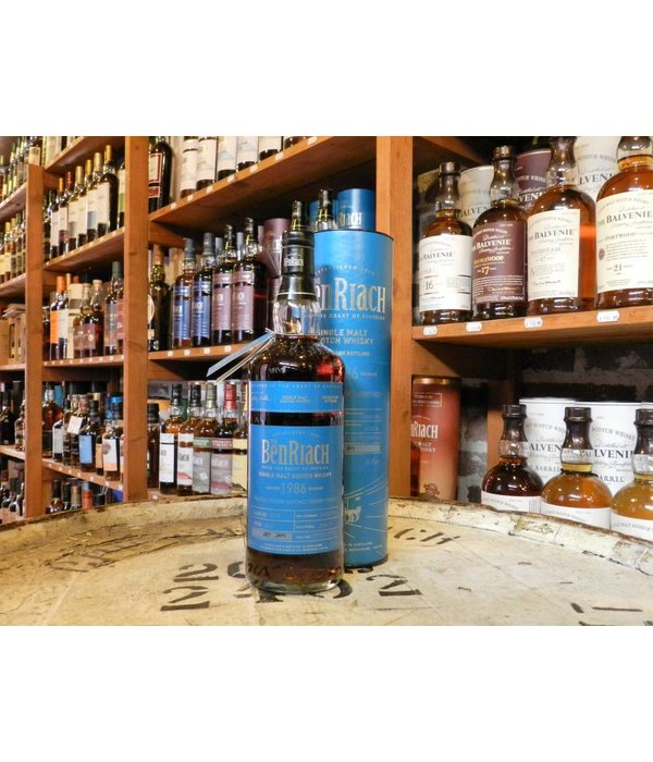 Benriach 1986 peated/ px finish