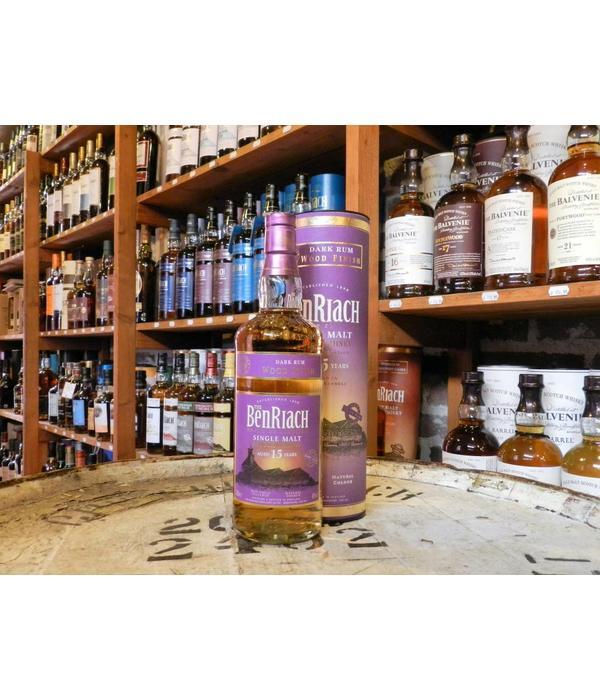 Benriach 15Y dark rum finish