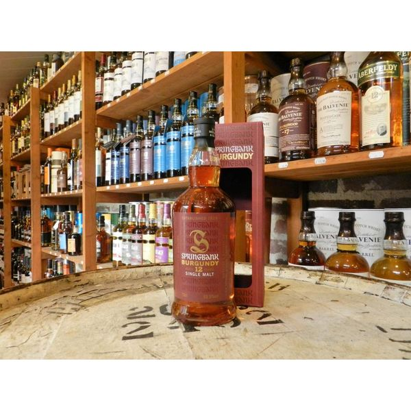 Springbank Burgundy wood 12Y
