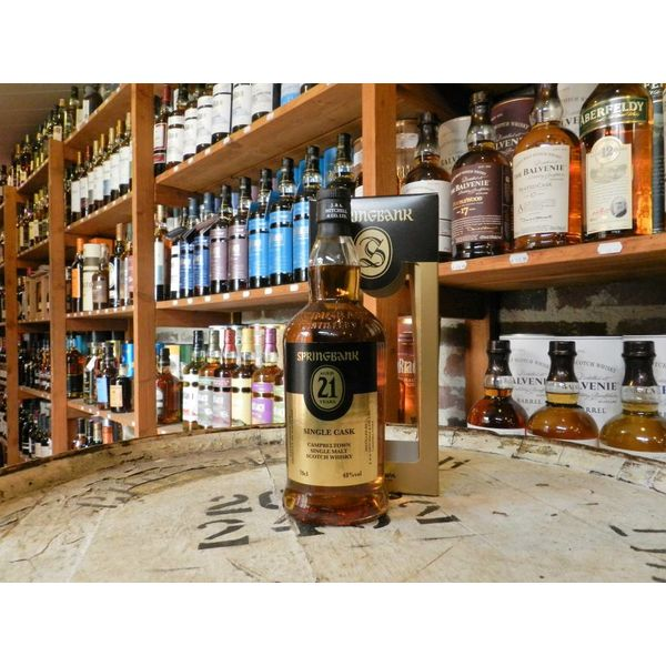 Springbank 21Y single cask