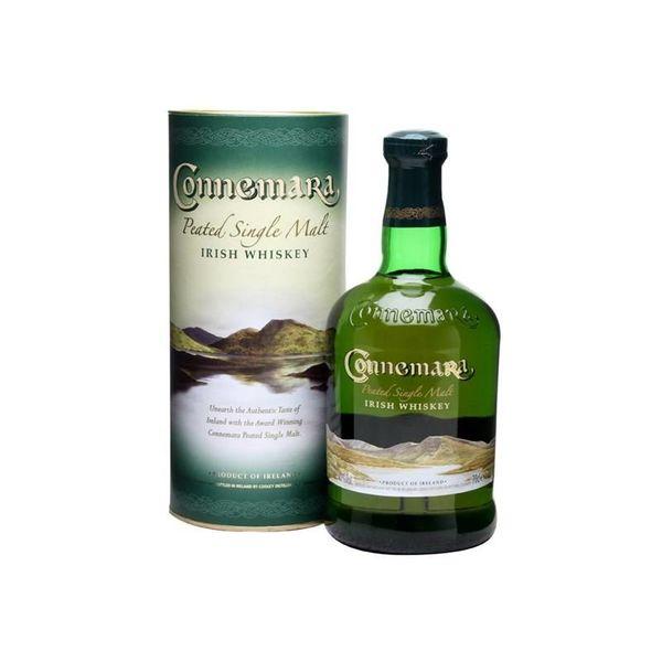 Connemara peated single malt old label