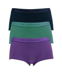 Björn Borg 3-pack mini dames shorts