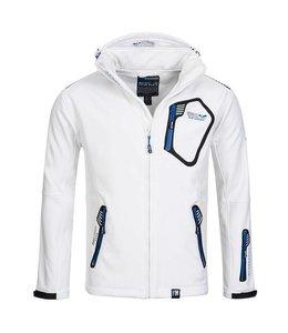 Geographical Norway Softshell Jacket Tep White