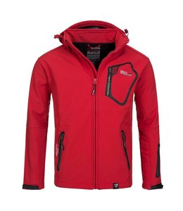 Geographical Norway Softshell Jacket Tep Red