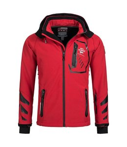 Geographical Norway Softshell Jacket Terouma Red/Black
