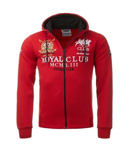 Geographical Norway Hooded Sweater met rits