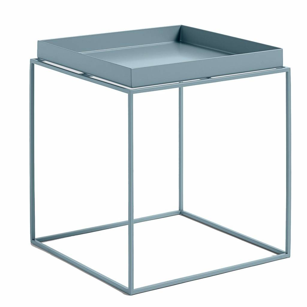 hay tray table m blue knuss. Black Bedroom Furniture Sets. Home Design Ideas