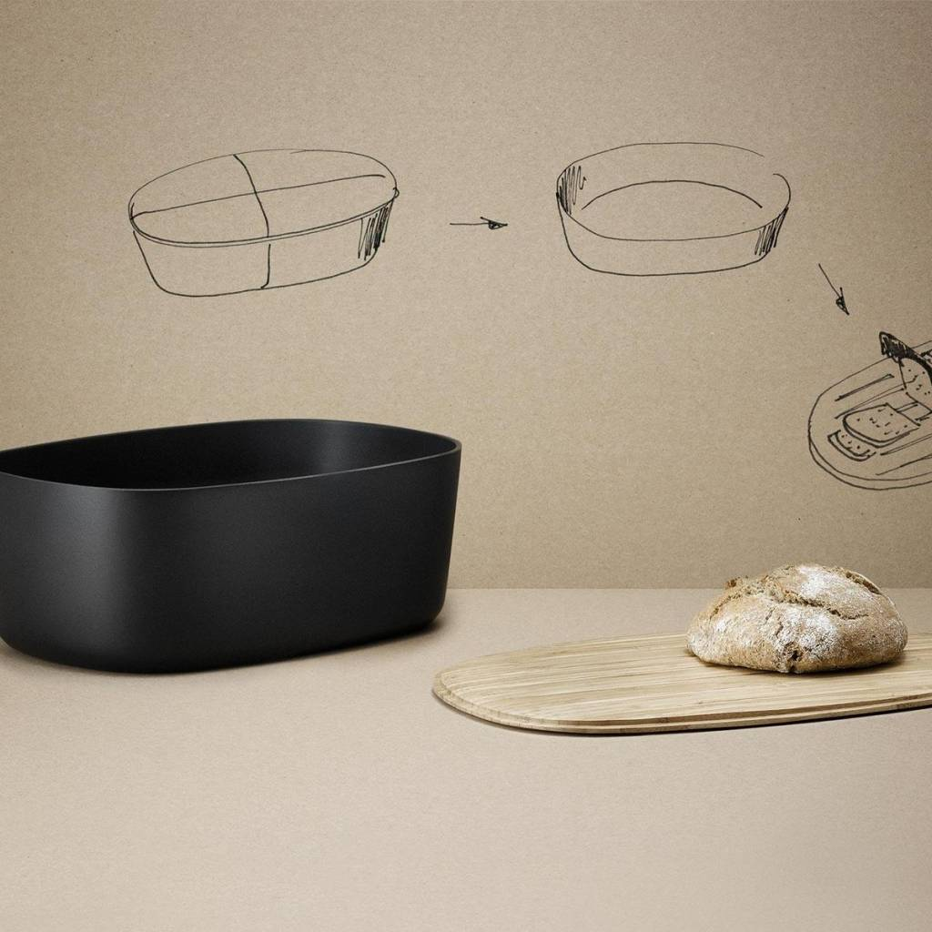 Stelton BOX-IT - Brooddoos - Zwart