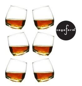 SAGAFORM CLUB - Whiskey Glasses - 6-pack