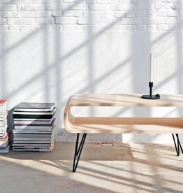 XL BOOM METRO COFFEE TABLE - Rubberhout