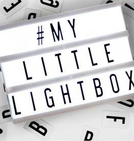 LOCOMOCEAN LOCOMOCEAN - Lightbox - A6 - Zwart
