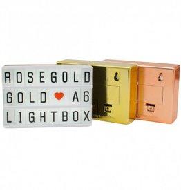 LOCOMOCEAN LOCOMOCEAN - Lightbox - A6 - Goud
