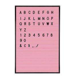 Cubic Wholesale Letterbord - Roze