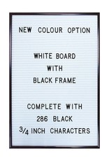 Cubic Wholesale Letterbord - Wit