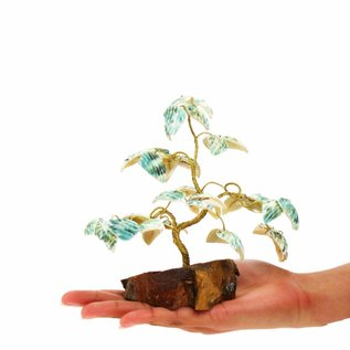 Polished Brass Fortune Tree