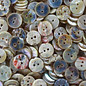 Mother of Pearl Buttons - White - 18mm