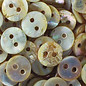 Mother of Pearl Buttons - White - 11mm