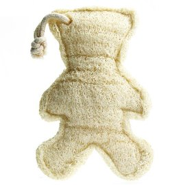 Loofah Bear on a Rope