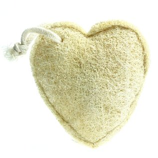 Loofah Heart on a Rope