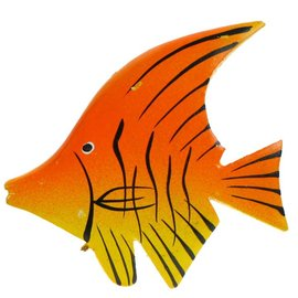 Painted Angel Fish 8cm Yellow/Orange