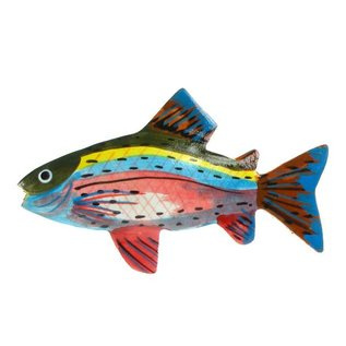 Painted Fish Shapes 5cm Flatback