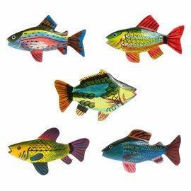 Painted Fish Shapes 5cm Flatback