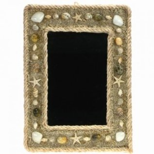 Shell and Sand Mirror 8x6cm