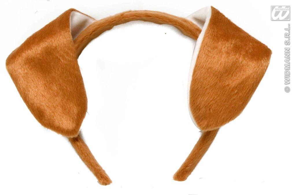 Как сделать собачьи уши на ободке своими