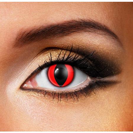 Линзы для белых глаз
